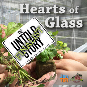 Hearts of Glass is a FINALIST in the Untold Story Crowdfunding Rally